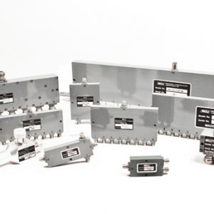 Stripline Power Dividers and Combiners